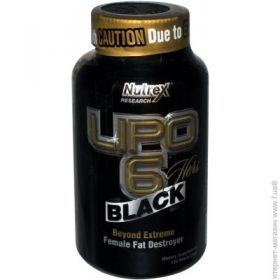 Жиросжигатель Nutrex Research Lipo-6 Black Hers, 120 капсул