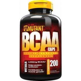 BCAA Mutant  (200 капсул)