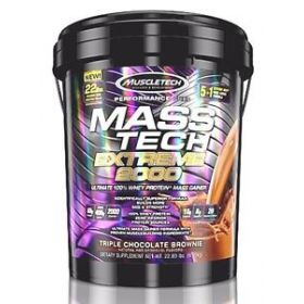 Гейнер MuscleTech - Mass Tech Extreme 2000 (10кг)