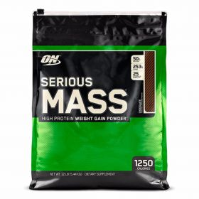 Гейнер Optimum Nutrition Serious Mass (5.45кг) ваниль