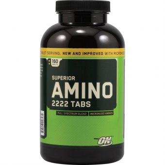Аминокислоты Optimum Nutrition Superior Amino 2222 Tabs (320 таб)