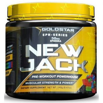 Энергетик Gold Star NEW JACK (240Гр)