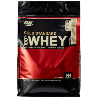 Протеин изолят Optimum Nutrition Whey Gold Standard 100% (4,54кг)